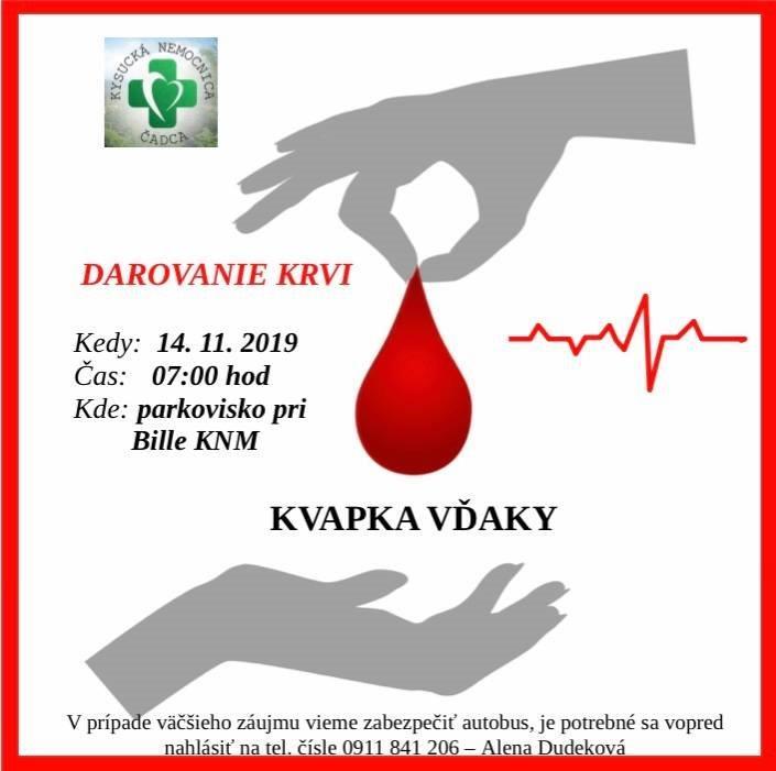 V darovaní krvi pokračujú.