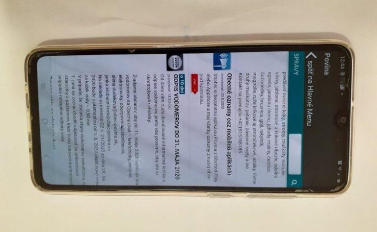 """V obci Povina spustili prevádzku mobilnej appky """"Povina"""""""