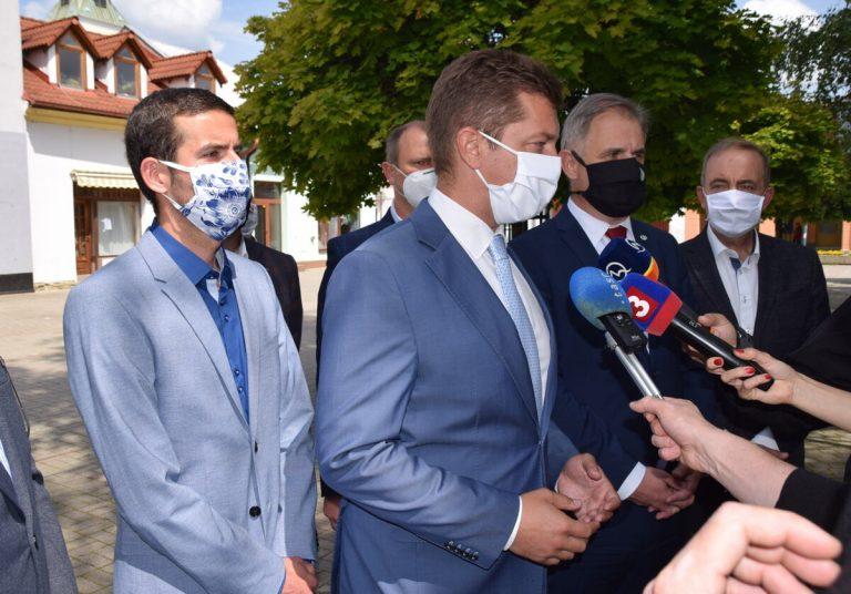 Minister dopravy prišiel rokovať so zástupcami ZMO Dolných Kysúc