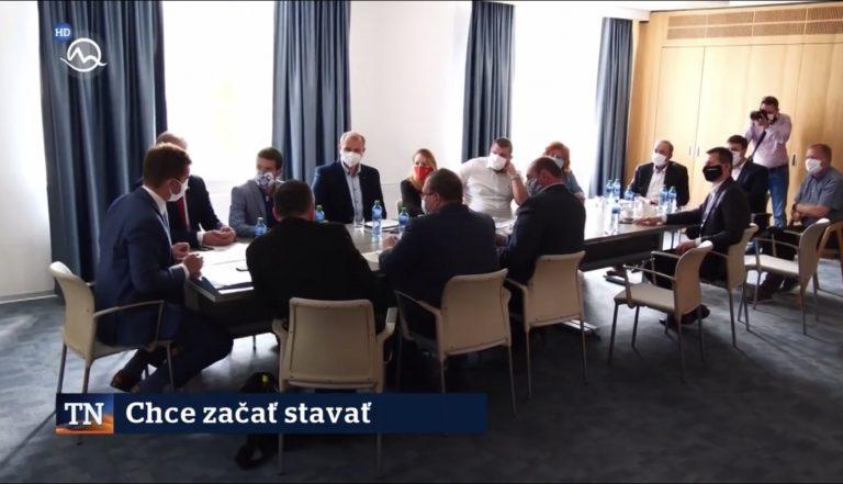 Rokovanie s ministrom dopravy na Kysuciach