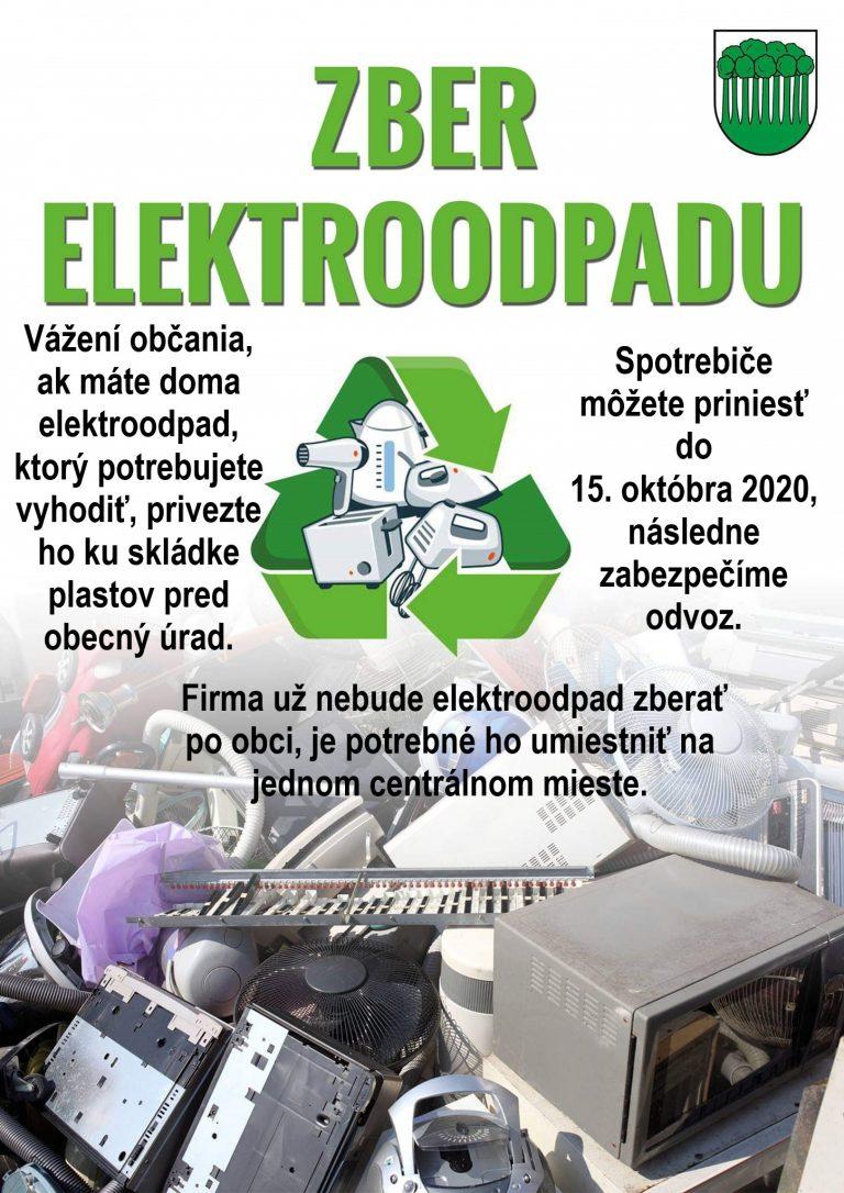 Zber elektroodpadu