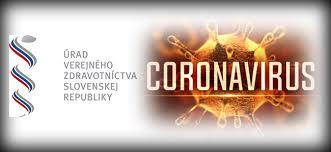 Aktualizácia informácií Covid-19